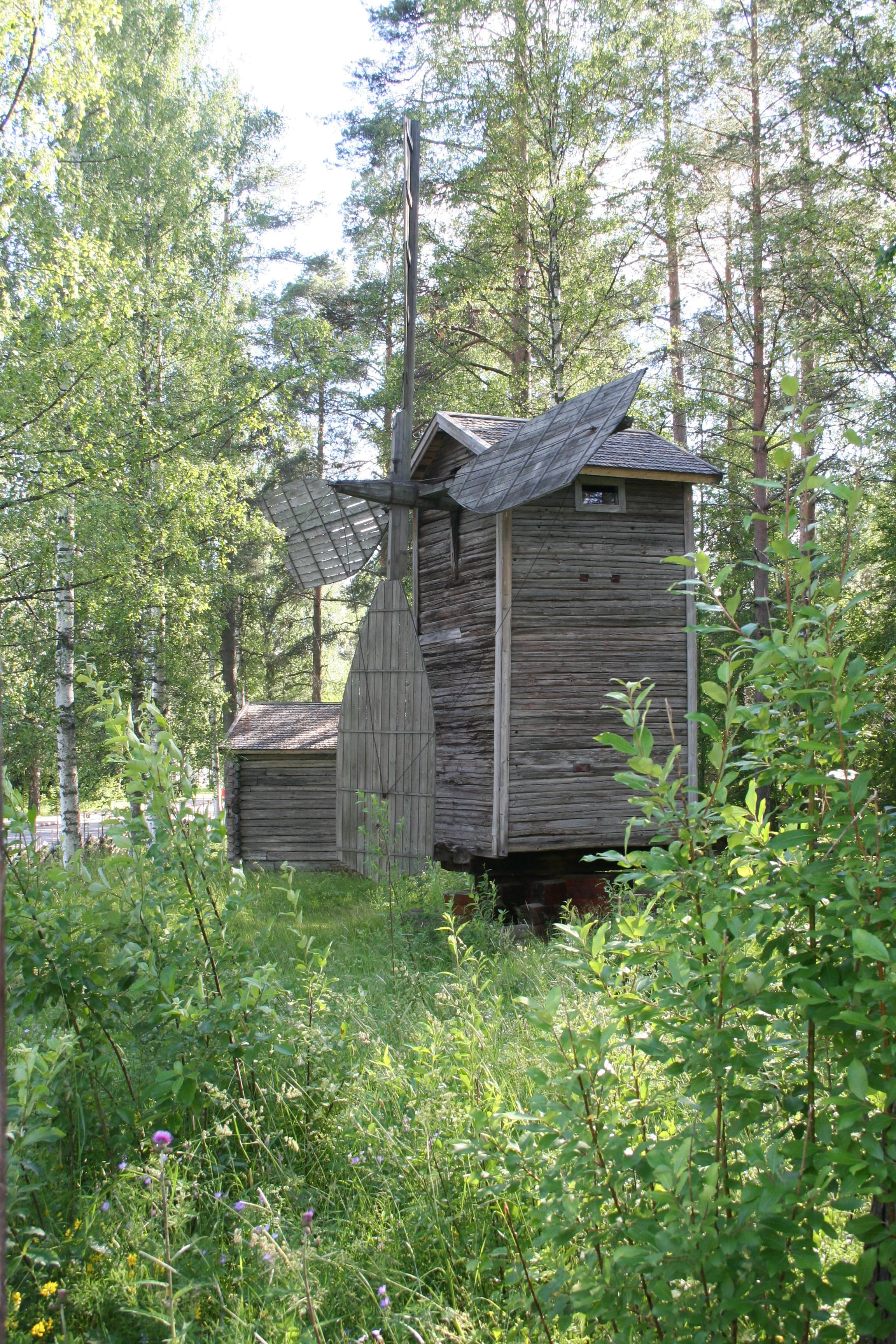 Tuulimylly museokylässä