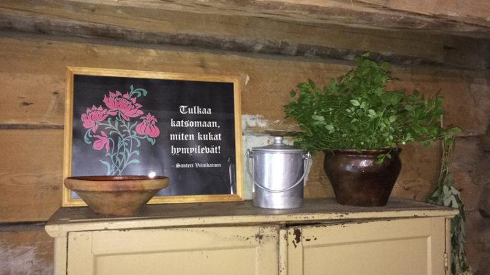 Kokkitalli ja kansanparantaja Santeri Viinikaisen aitta